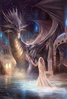 confrontation woman dragon 1