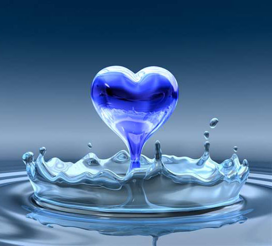 Water-Blue-Heart-