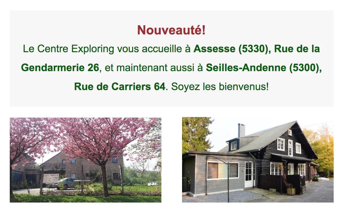 Centre Exploring Assesse et Seilles