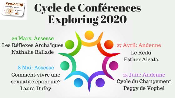 Cycle de Conférences Exploringde février à juin 2019 (1)